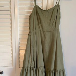 old navy fit & flare cami mini dress